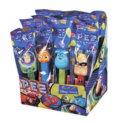 Best Of Pixar Pez Dispensers - 12ct Display Box