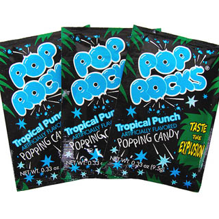 Fruit Punch Pop Rocks - 36ct