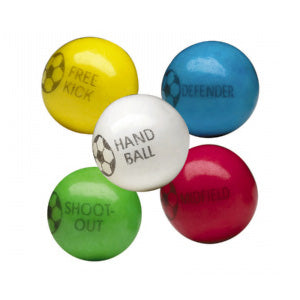 Soccer Bubble Gum Balls - 850ct