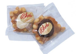 White Chocolate Macadamia Praline - Individually Wrapped 3oz, 15ct