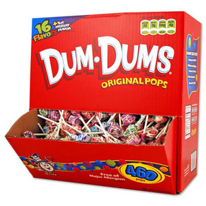 Dum Dum Pops - Assorted 460ct Display Box
