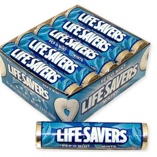 Pep-o-mint Lifesavers Rolls - 20 Rolls