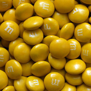 Gold M&M's - Milk Chocolate 5lb
