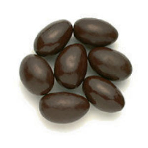 Dark Chocolate Covered Almonds - 10lb