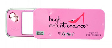 Pink Little i Mints High Maintenance - Tins 12ct