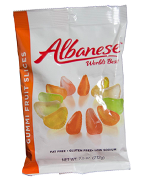 Fruit Slices Assorted 7.5oz Peg Bag - 12ct