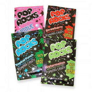 Assorted Pop Rocks - Variety Pack 36ct