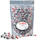 Puntini Chips Licorice - 3.4lb Bag