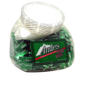 Andes Cream De Mint - 240ct Jar