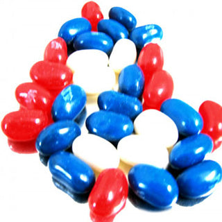 Red White & Blue Jelly Belly - 10lb Jelly Beans