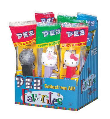 Pez Dispensers Favorites - 12ct Display Box