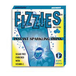 Fizzies Blue Razz - 6ct