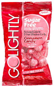 Go Lightly Hard Candy Sugar Free - Cinnamon 12ct