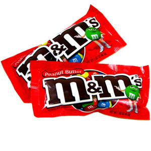 Peanut Butter M&M's - 24ct