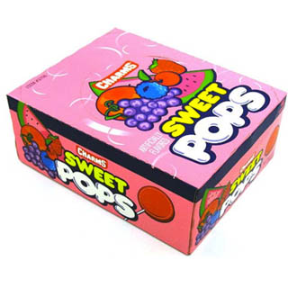 Charms Sweet Pops - 48ct Box