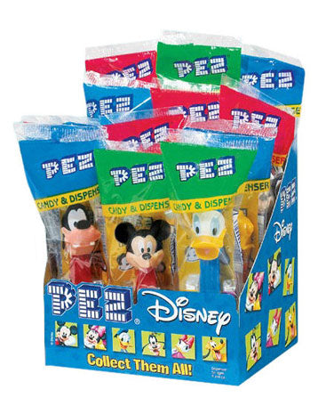 Disney Pez Dispensers - 12ct Display Box