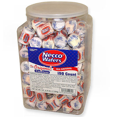 Mini Necco Wafers - Assorted 150ct Tub