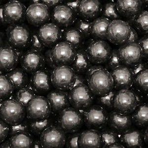 Black Bubble Gum Balls - 2lb
