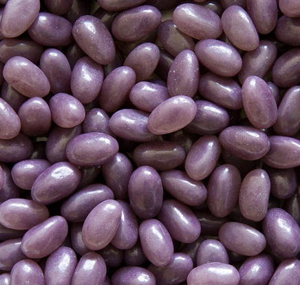 Purple Grape Jelly Beans in Bulk - 2lb