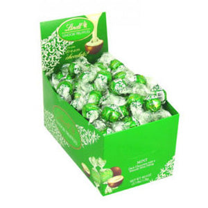 Lindt Lindor Truffles - Mint Dark Chocolate 120ct