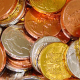 Assorted Chocolate Coins Extra Large - 5lb Bag