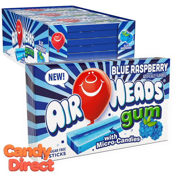 Airheads Gum Raspberry 14-pc - 12ct