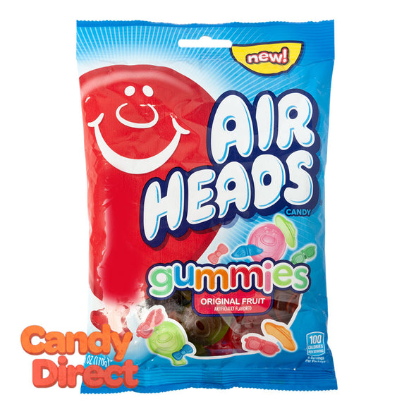 Airheads Gummies 6oz Peg Bag - 12ct