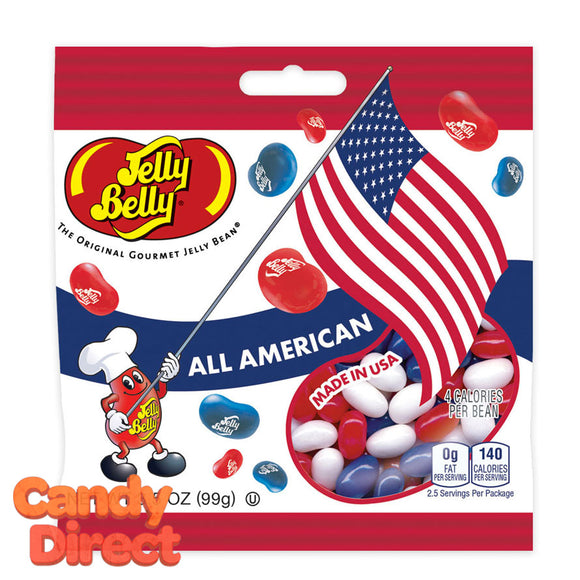 Jelly Belly 3.5oz All American Jelly Bean Bags - 12ct