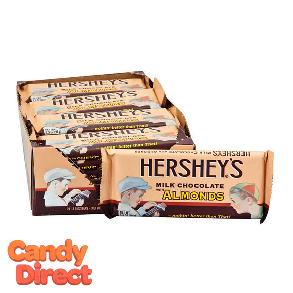 Almond Milk Chocolate Hershey's Nostalgia Bar - 24ct
