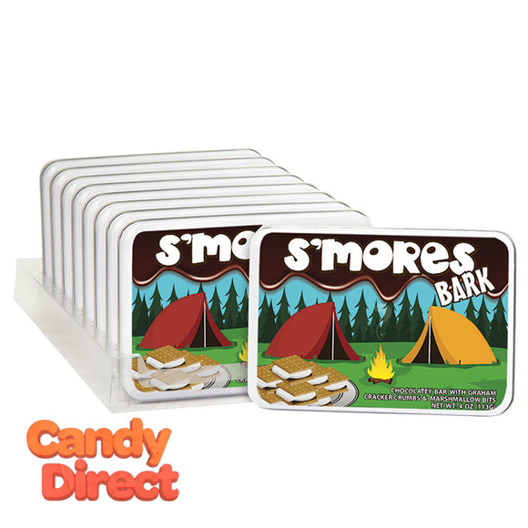 Amusemints S'Mores Bark 4oz Tin - 9ct