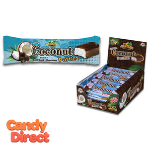 Anastasia Coconut Bars Dark Chocolate - 20ct