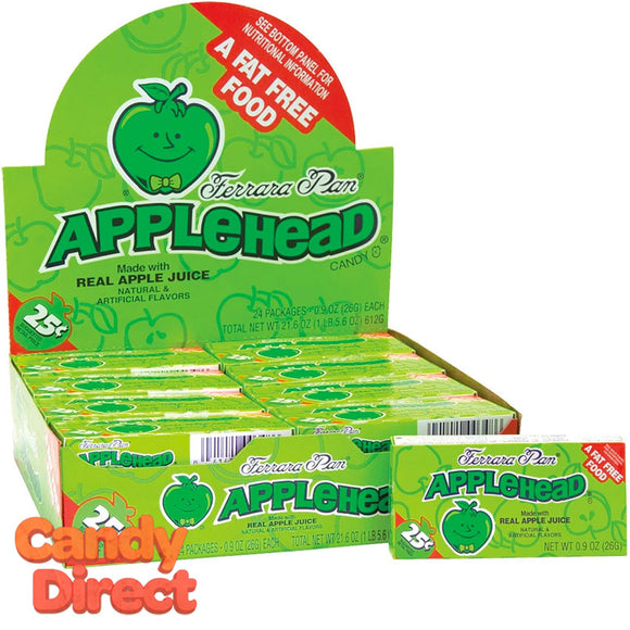 AppleHead Candy - 24ct Boxes