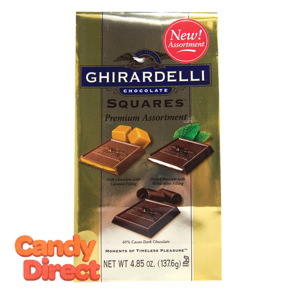 Assorted Classic Ghirardelli Squares - 6ct Bags