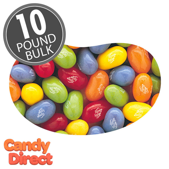 Assorted Fruit Sours Jelly Belly - 10lb