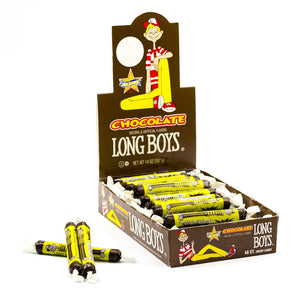 Atkinson Long Boys Chocolate Candy - 48ct