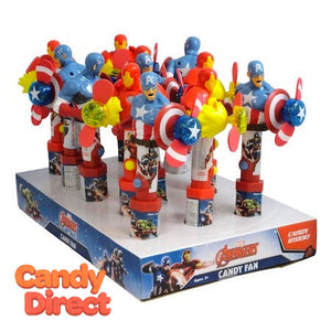 Avengers Candy Fans Marvel - 12ct