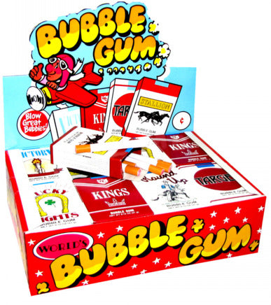 Bubble Gum Cigarettes - 24ct Display Box