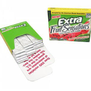 Wrigley's Extra Sweet Watermelon - 15-Stick Slim Packs 10ct