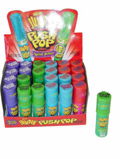 Jumbo Push Pops - 24ct Display Box
