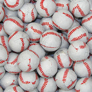 Chocolate Baseballs - 10lb Bag