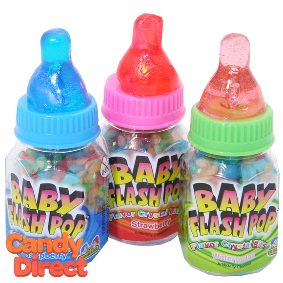 Baby Flash Pop Flavor Crystal - 12ct