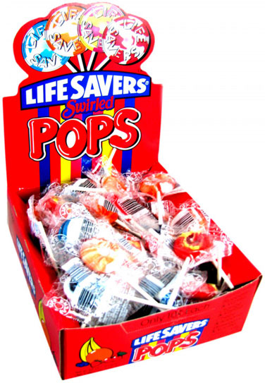 Swirl Lifesavers Pops - 50ct