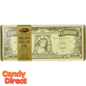 Barton's Million Dollar Candy Bars - 12ct