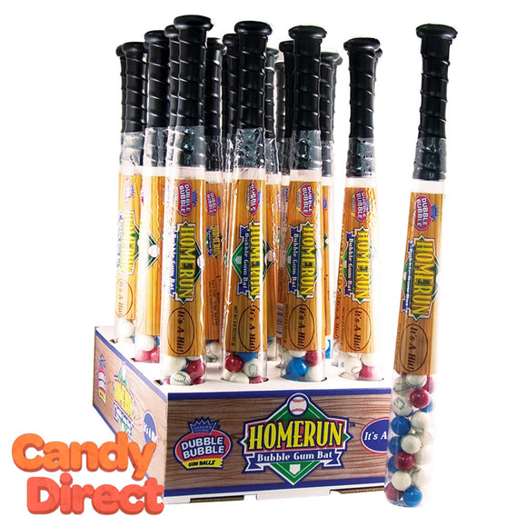 Baseball Bat Gumballs - 24ct
