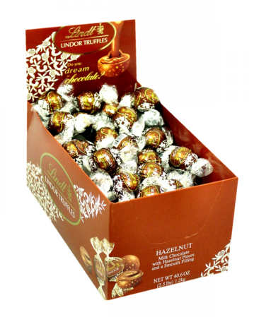 Lindt Lindor Truffles - Hazelnut Milk Chocolate 120ct
