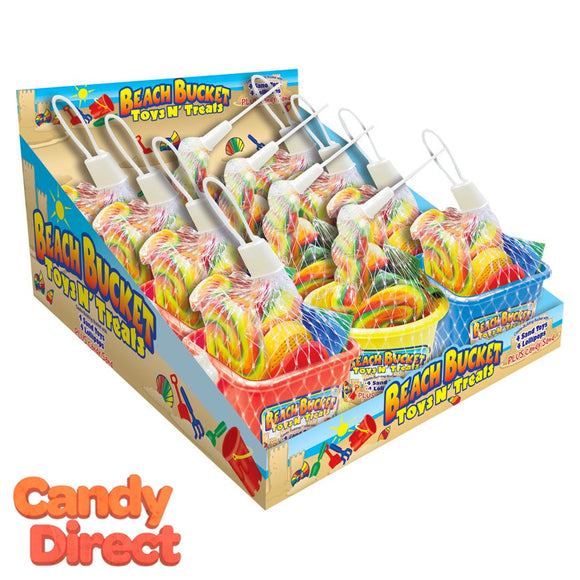 Beach Bucket Toys & Treats - 12ct