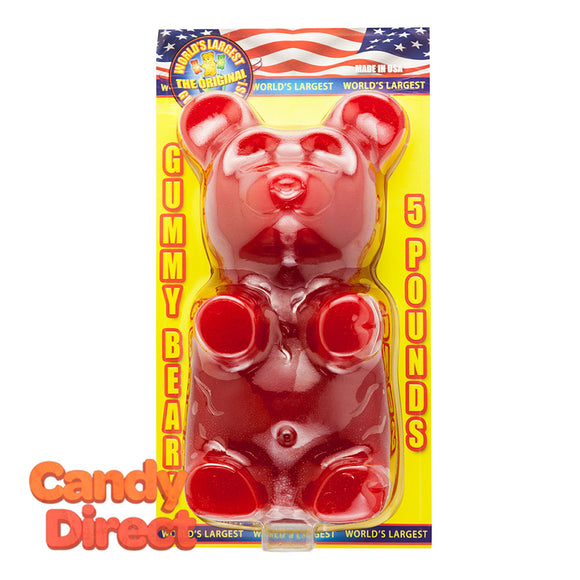 Bear Cherry World's Largest Gummy 5 lbs - 3ct