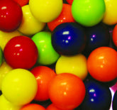 Assorted Bubble Gum Balls 1/2-inch - 19lb Case
