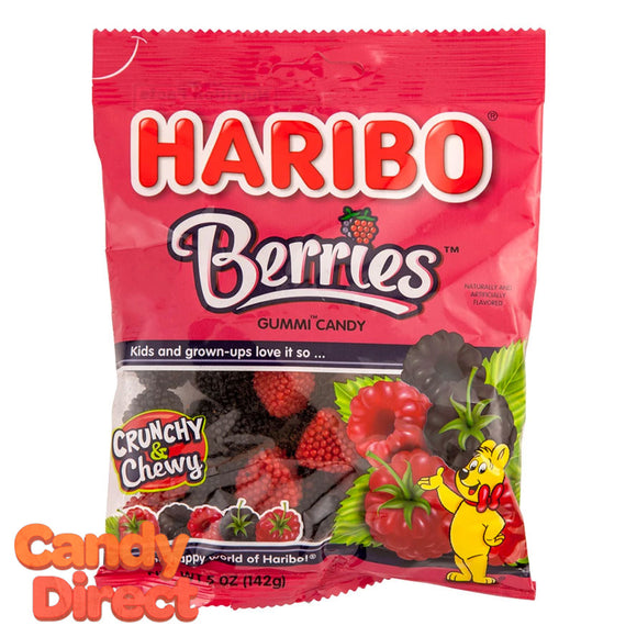 Berries Haribo Gummi Candy 5oz Bag - 12ct