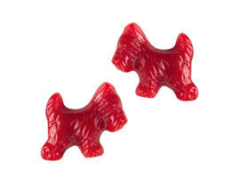Red Licorice Scottie Dogs Sugar Free - Gimbals 5lb